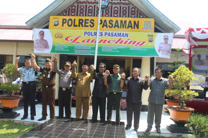 Polres Pasaman Launching Program Inovatif Kreatif